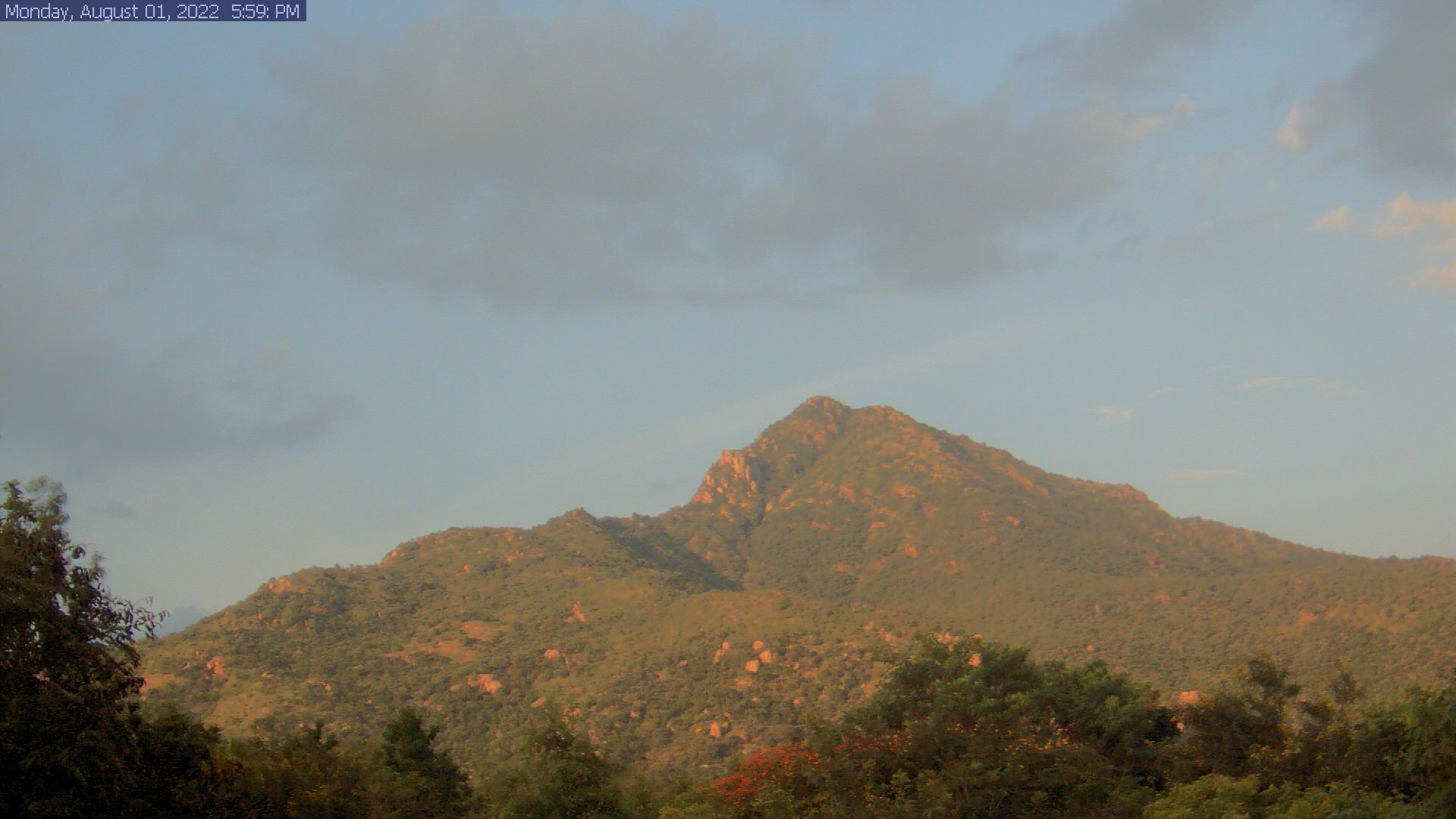 Tiruvannamalai Live Cam, India – Arunachala Mountain